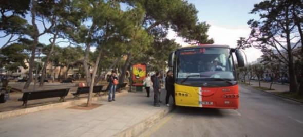 autobus menorca ciutadella