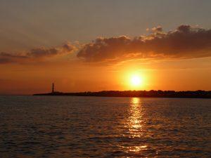 Faro de Artrutx - visto desde el mar