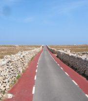 Carretera hacia Punta Nati.