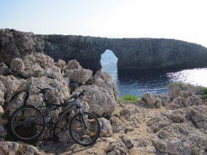 Pont den Gil - bici - menorca