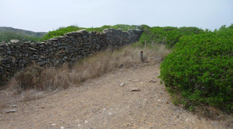 Camí de Cavalls - cap a Tortuga