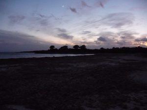 Puesta de sol en Son Saura - Banyuls