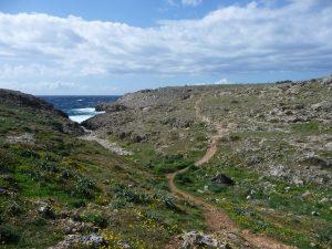Camí de Cavalls hacia Cala des Corbetar