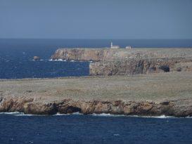 Vista de Punta Nati desde Sa Falconera