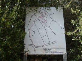 Mapa de puntos de interés del poblado de Torretrencada