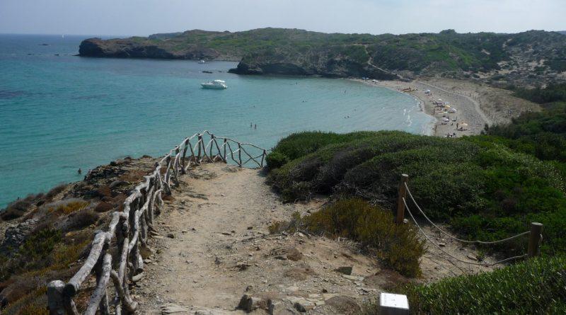 Últimos metros del Camí de Cavalls antes de llegar a Cala Tortuga