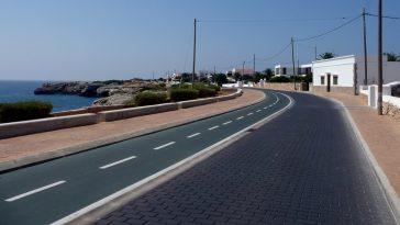 Carretera sa farola menorca