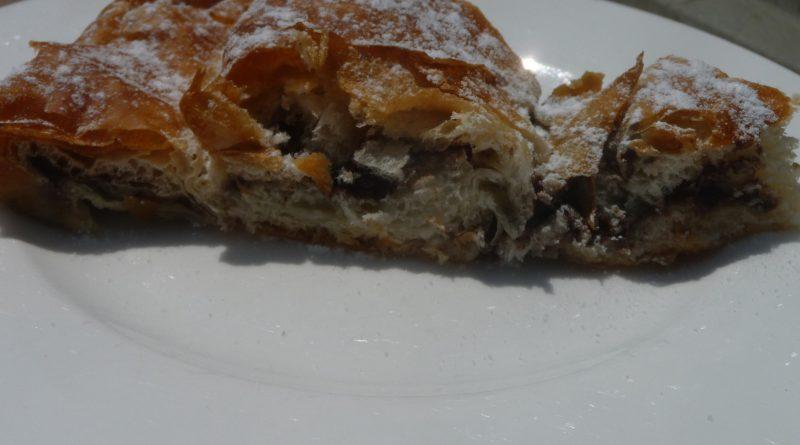 Ensaimada de Menorca de chocolate - P1120943