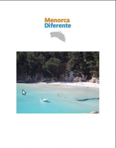 Portada de la Guía PDF MenorcaDiferente.com - edición 2013