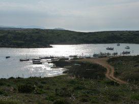 Acceso al Puerto Sa Nitja