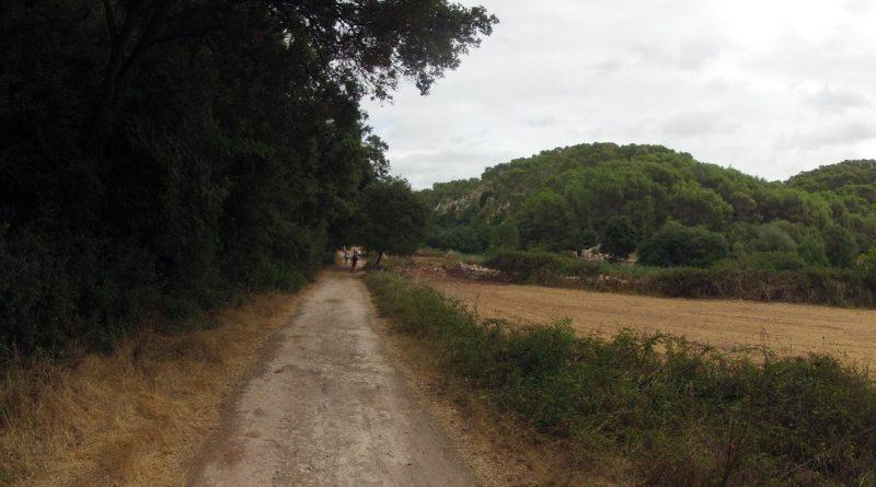 Primera parte del Camino hacia el Barranc