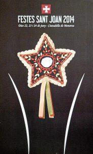 Cartel Fiestas de Sant Joan 2014