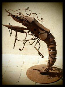 Pasearte - Escultura en forja