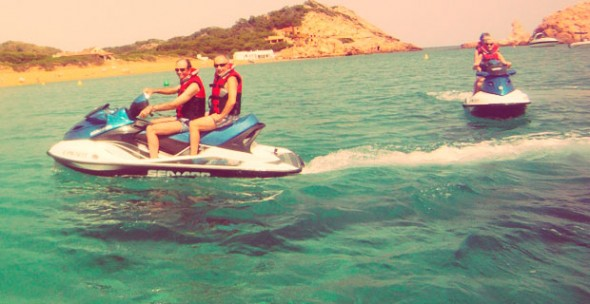 Moto de Agua en Menorca