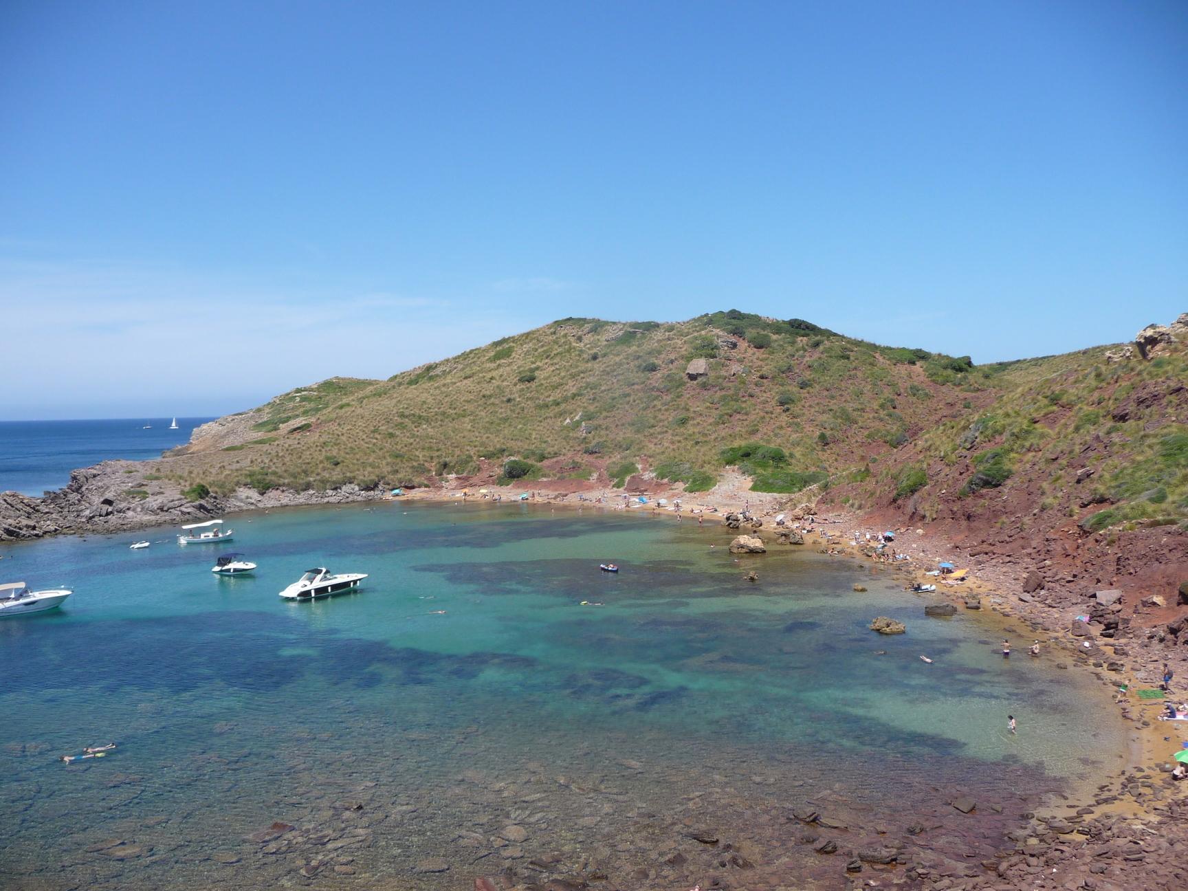 Cala Roja | Menorca Diferente