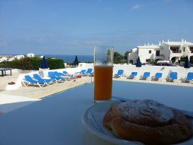 Desayuno en Cala Morell - Apartamentos Sa Cala