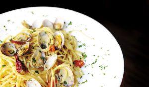 Spaguetti con le vongole