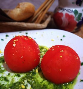 Tomates rellenos - mandimandi