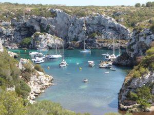 Cales Coves en Verano