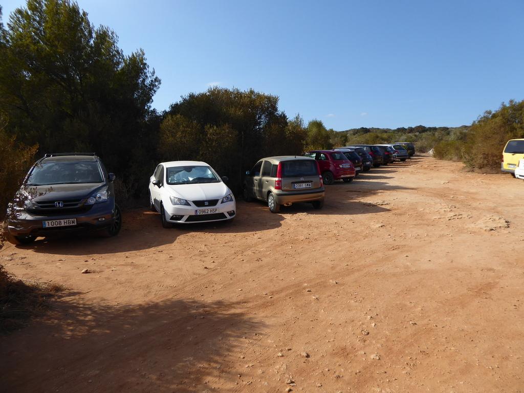 Parking de Cales Coves
