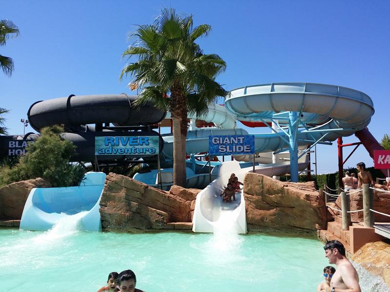 Parque acuatico en menorca cheap hotel marina parc duen - Parque acuatico menorca ...