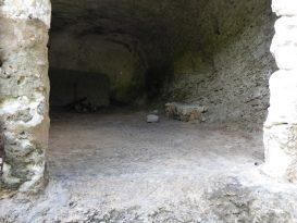 Interior Cueva de Biniparratx