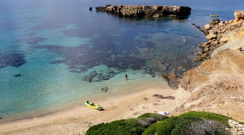 Bañista en Arenal d'en Moro - P1040546