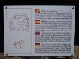Cartel explicativo de Torralba d'en Salord
